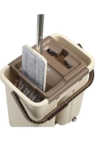 Scratch Anet Tablet Mop Geniş Hazneli Temizlik Seti + Yedek Mop
