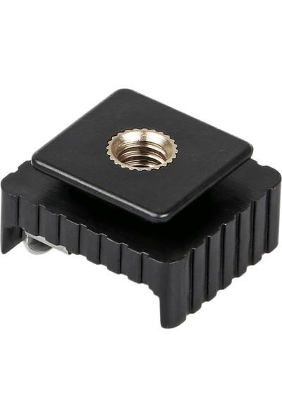 Ayex Tripod Veya Işık Standı İçin Standart Flaş Sabitleme Adaptörü Sc-08