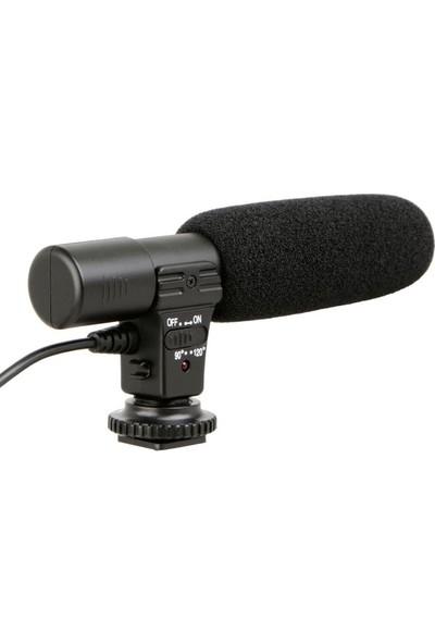 Ayex Dslr Makine ve Video Kamera İçin Stereo Mikrofon Mic-01