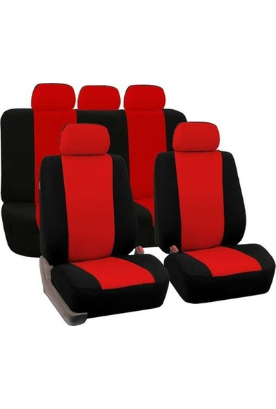 Otozum Hyundai Elantra Ekonomik Oto Koltuk Kılıfı Kırmızı