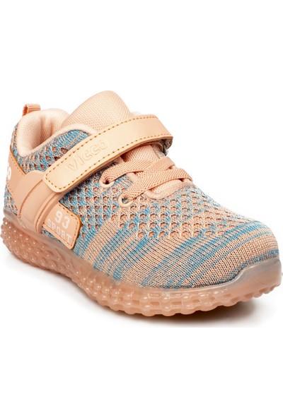 Vicco 313.p20Y.104 Patik Işıklı Pudra Çocuk Spor Ayakkabı