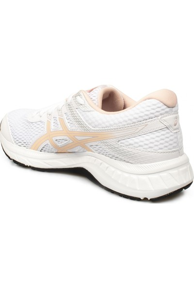 Asics 1012A570Z Gel-Contend 6 Beyaz Kadın Spor Ayakkabı