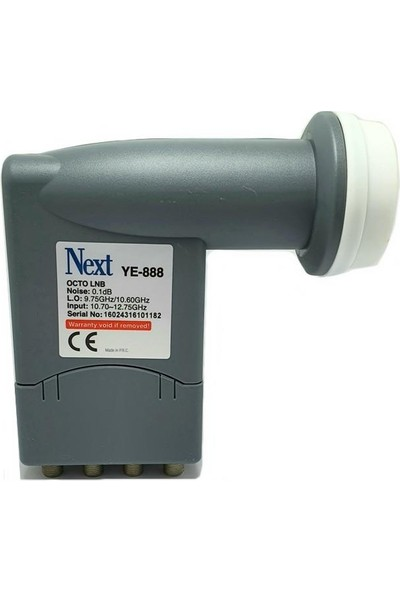 Next YE-888 0.1db Octo Lnb 8li Full Hd 4K