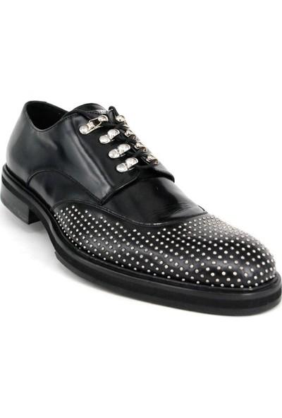 Shoemol 9906 - Siyah John Richmond Erkek Ayakkabı