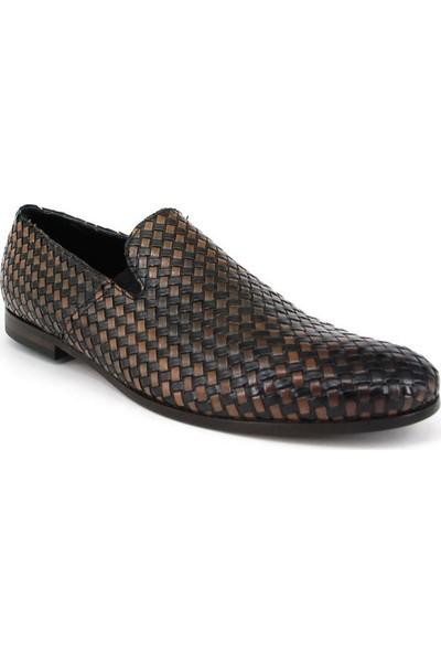 Shoemol 9912 - Siyah Vero Cuoio Erkek Ayakkabı
