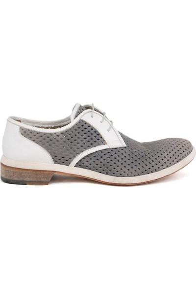 Shoemol 9917 - Beyaz Gri Magico Erkek Ayakkabı