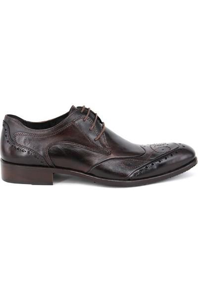 Shoemol 9923 - Siyah Vero Cuoio Erkek Ayakkabı