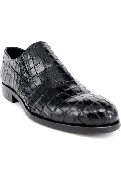 Shoemol 9924 - Siyah Rogani Erkek Ayakkabı