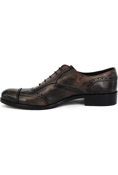 Shoemol 9932 - Mavi Siyah Vero Cuoio Erkek Ayakkabı