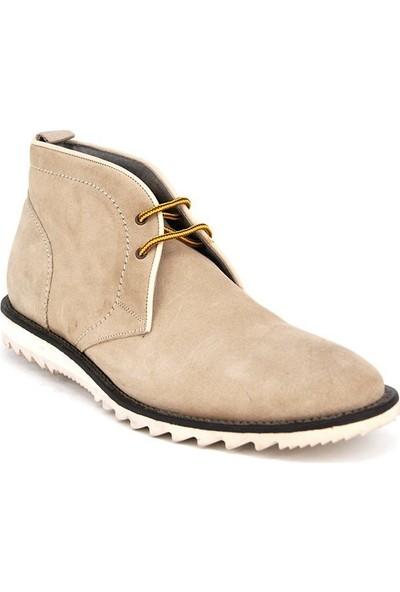 Shoemol 9934 - Açık Krem Arfango Erkek Ayakkabı