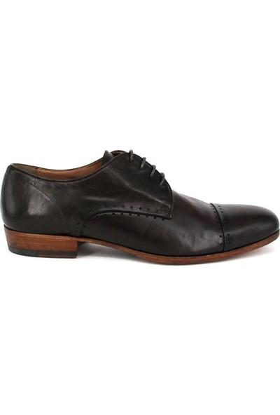 Shoemol 9936 - Siyah Pantantetti Erkek Ayakkabı