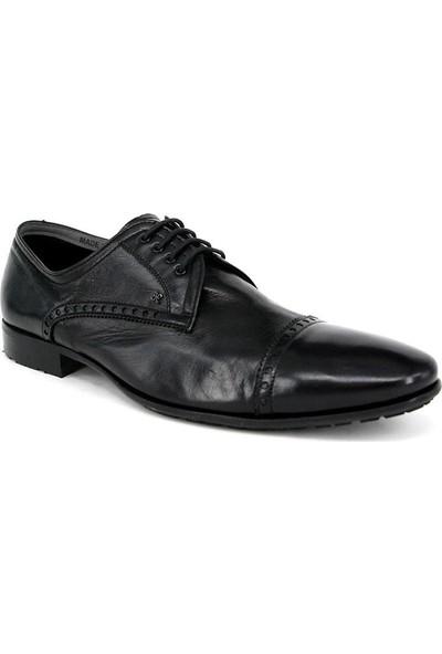 Shoemol 9937 - Siyah Vero Cuoio Erkek Ayakkabı