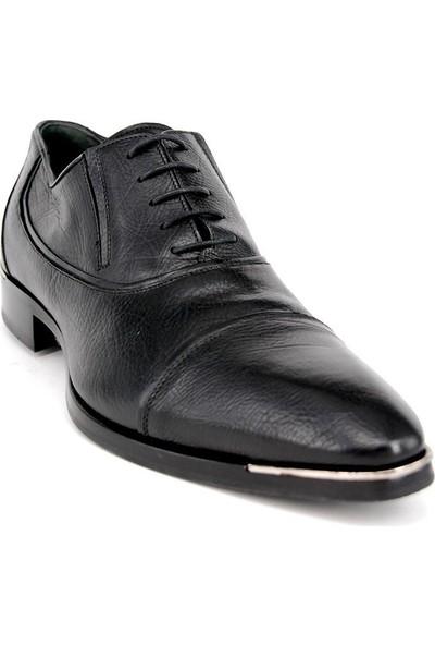 Shoemol 9945 - Siyah Vero Cuoio Erkek Ayakkabı
