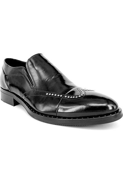 Shoemol 9946 - Siyah Baldinini Erkek Ayakkabı