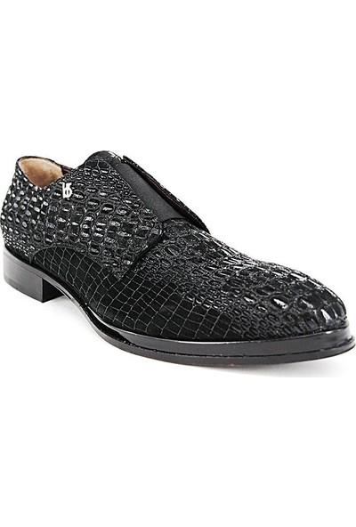 Shoemol 9947 - Siyah Roberio Botticelli Erkek Ayakkabı