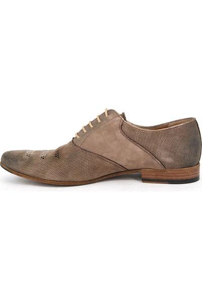 Shoemol 9952 - Krem Vero Cuoio Erkek Ayakkabı