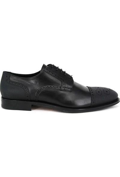 Shoemol 9953 - Siyah Loriblu Erkek Ayakkabı