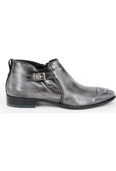 Shoemol 9955 - Gri Mirage Erkek Ayakkabı