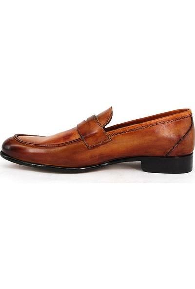 Shoemol 9956 - Kahverengi Vero Cuoio Erkek Ayakkabı