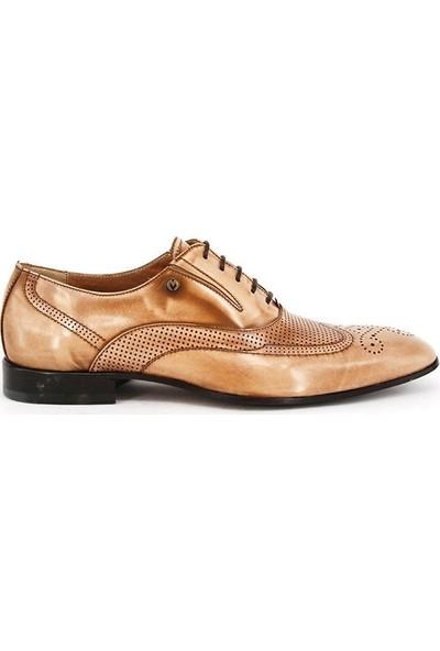 Shoemol 9958 - Krem Vero Cuoio Erkek Ayakkabı