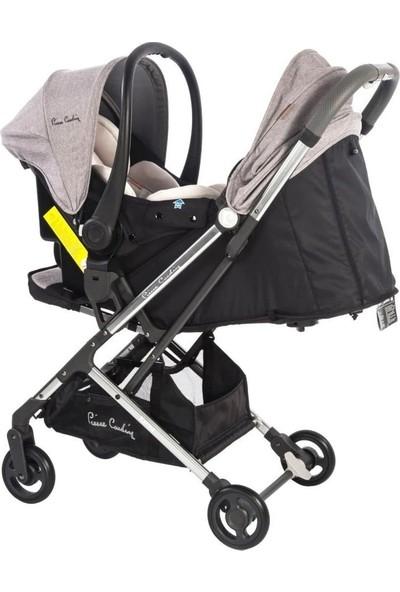 Pierre Cardin Karma Seyahat Sistem Bebek Arabası - Gri