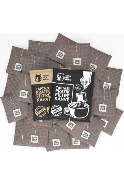 Kahvegibikahve 30'lu 2 Paket Klasik 1 Paket Güçlü Pratik Filtre Kahve