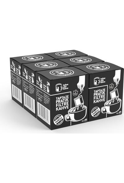 Kahvegibikahve 60'lı Güçlü Pratik Filtre Kahve