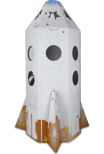Little Maker Uzay Roketi - Rocket x Boyanabilir Oyun Maketi