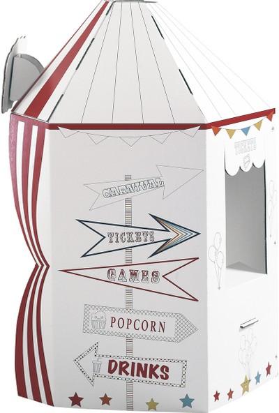 Little Maker Sirk Çadırı - Little Wonderland Boyanabilir Oyun Maketi