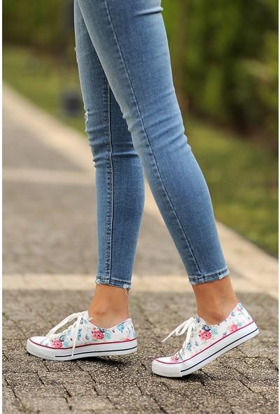 Pembe Potin Multi Kadın Ayakkabı