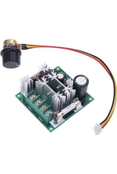 Bakay Ccmhcn 15A 6-90V Pwm Dc Motor Hız Kontrol Modülü