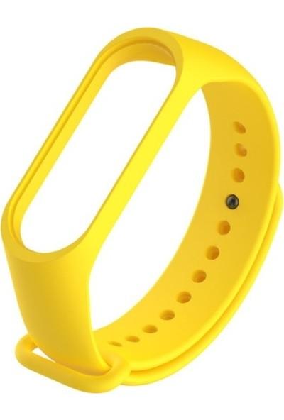 Nomino Mi Band 3/4 Akıllı Bileklik Kordonu Sarı