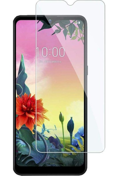 Microcase LG K50S Tempered Glass Cam Koruma