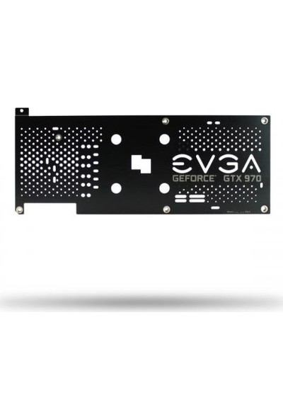 Evga GTX970 39XX Serisi Ekran Kartı Için Arka Plaka (Backplate) EE-100-BP-3973-B9