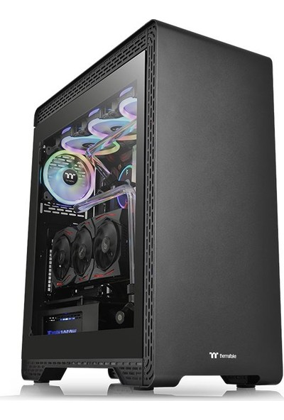 Thermaltake S500 Tempered Glass Mıdtower Oyuncu Kasası