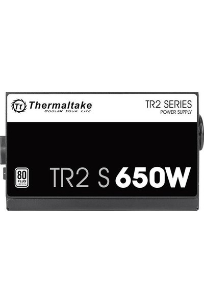 Thermaltake Tr2 S 650W 80+ 12CM Fanlı Psu PS-TRS-0650NPCWEU-2