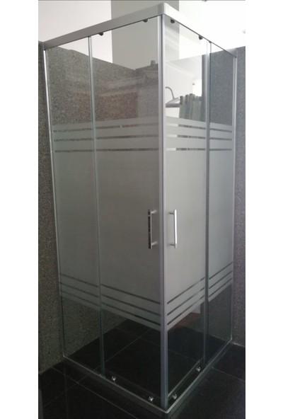 TEKNO Desenli Duşakabin 6 mm x 90 cm