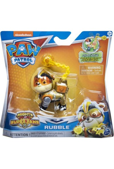 Nickelodeon Paw Patrol Temalı Kahramanlar S2 Rubble