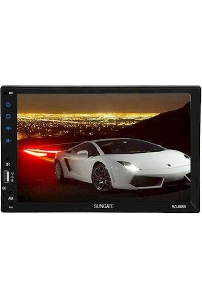 Korax Hitech Sungate Sg 8055 7 İnç Full Touch Double Teyp