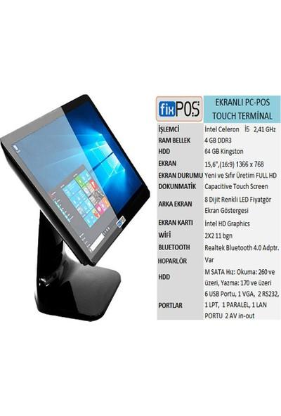 Fixpos Dokunmatik Ekranlı Pc-Pos Cihazı