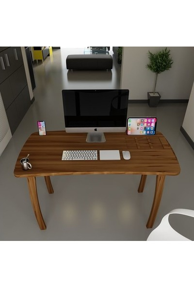 Dekoriz Ritim Çalışma Masası Ceviz