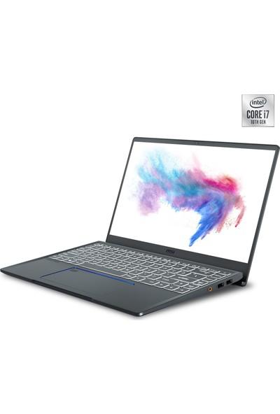 """MSI Prestige 14 A10SC-019TR Intel Core i7 10710U 16GB 512GB SSD GTX1650 Windows 10 Home 14"""" FHD Taşınabilir Bilgisayar"""