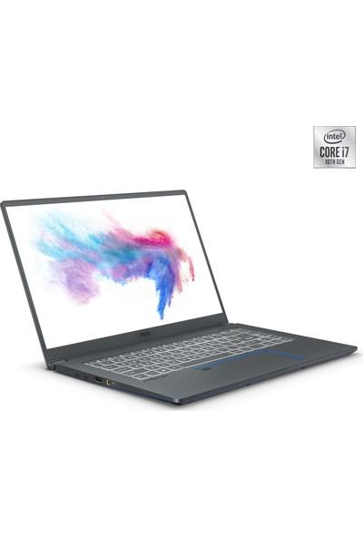 """MSI Prestige 15 A10SC-023TR Intel Core i7 10710U 8GB 256GB SSD GTX1650 Windows 10 Home 15.6"""" FHD Taşınabilir Bilgisayar"""