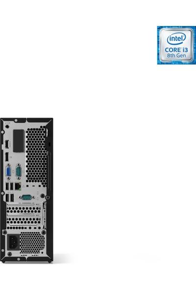 Lenovo IdeaCentre 510S-07ICB Intel Core i3 8100 8GB 128GB SSD Freedos Masaüstü Bilgisayar 90K800AMTX