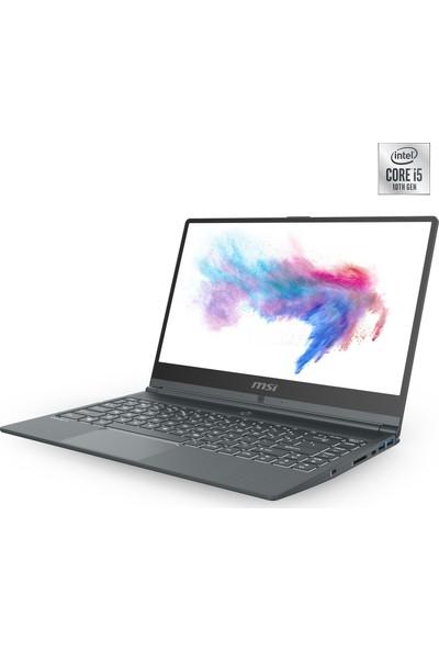 """MSI Modern 14 A10RB-475TR Intel Core i5 10210U 8GB 512GB SSD MX250 Windows 10 Home 14"""" FHD Taşınabilir Bilgisayar"""