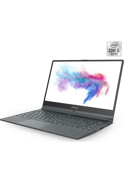 "MSI Modern 14 A10RB-629XTR Intel Core i5 10210U 8GB 256GB SSD MX250 Freedos 14"" FHD Taşınabilir Bilgisayar"