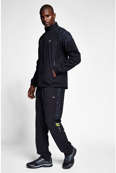 Lescon Siyah Erkek Eşofman Takımı 20B-1049