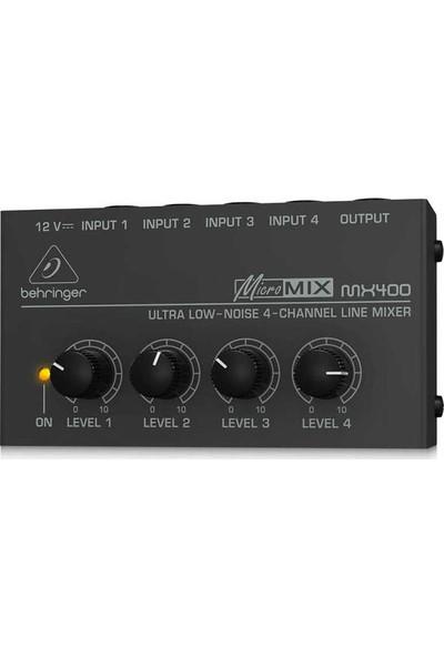 Behringer MX400 4 Kanallı Mikser