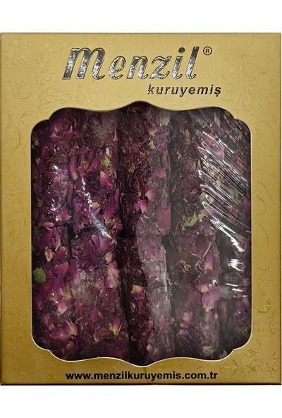 Menzil Kuruyemiş Gül Yapraklı Fitil Lokum 250 gr