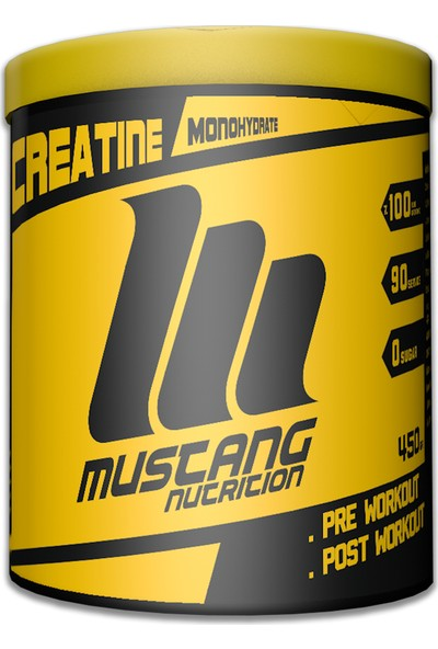 Mustang Nutrition Creatine 450 Gr
